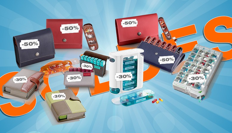 Tous Les Piluliers Semainiers Sont en Promo jusqu'à -50 %