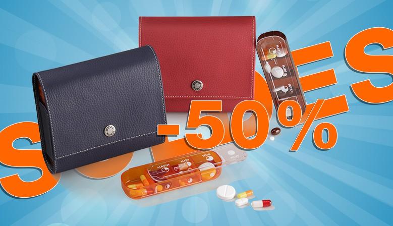 Soldes -50% sur le Grand Pilulier Pilbox Maxi