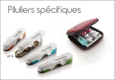 Piluliers spécifiques