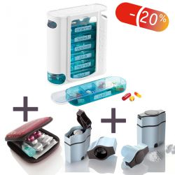 Pilbox 7 + 3 en 1 + Pocket