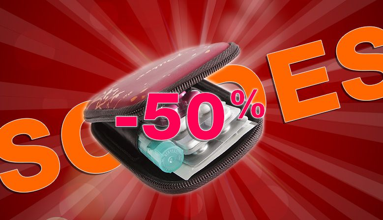 -50% Sur la Trousse à Médicament Pilbox Pocket !