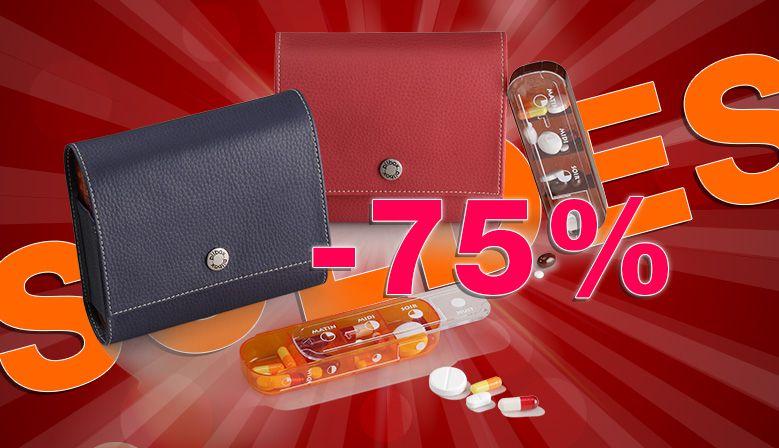 -75 % sur le pilulier semainier Pilbox Maxi !