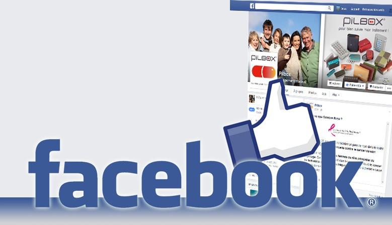 Rejoignez Pilbox sur Facebook