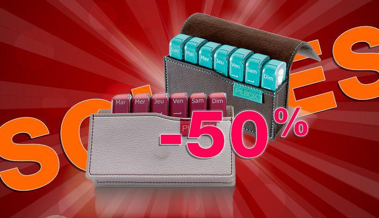 Le Pilbox Mini, le pilulier idéal pour voyager est à -50% !